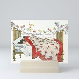 The children were nestled all snug in their beds by Jessie Wilcox Smith (1863-1935) Mini Art Print