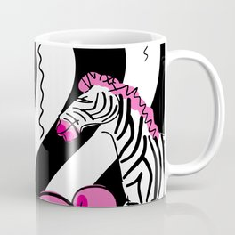 Little Pink Zebra's Dream Balloons Coffee Mug
