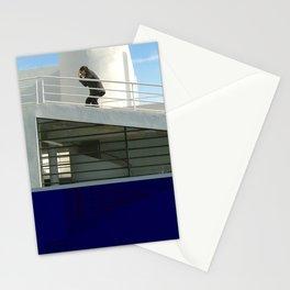 savoye glitch Stationery Cards