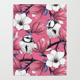 Spring time in pink  Poster