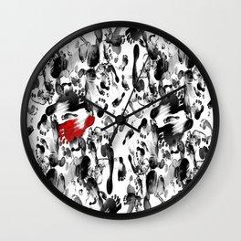 Humans Wall Clock