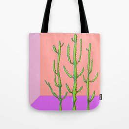 Three Amigos Cacti Tote Bag
