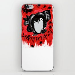 Death Penguin iPhone Skin