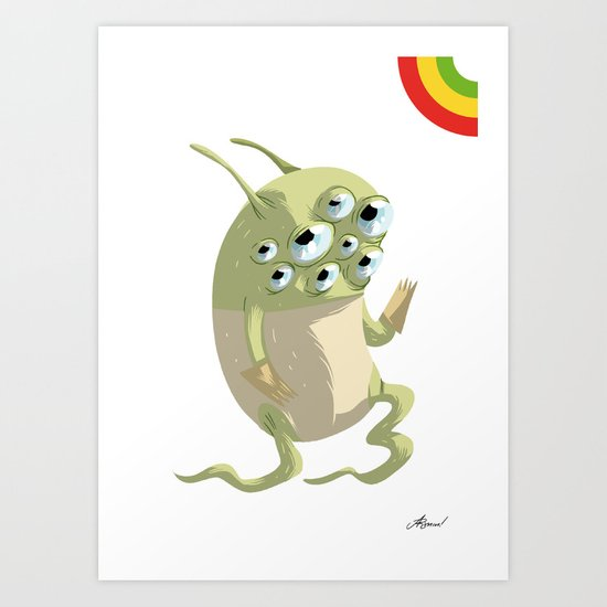 [A'sHMs] #I SEE YOU Art Print