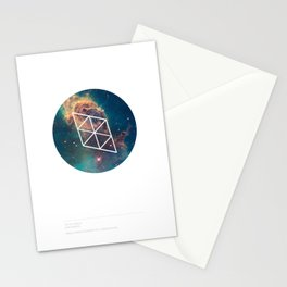 Jet in Carina Stationery Cards