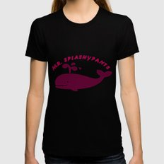 SplashyPants Womens Fitted Tee Black LARGE