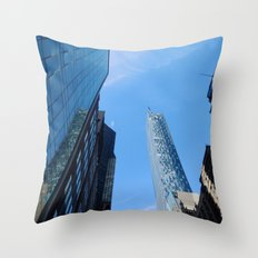 On 57th street, NYC Throw Pillow