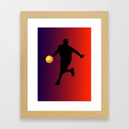 UVA Colors Framed Art Print