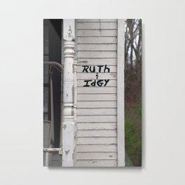 Ruth and Idgys from Fried Green Tomatoes Metal Print