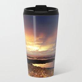 Seaweed Beach Sunset Travel Mug