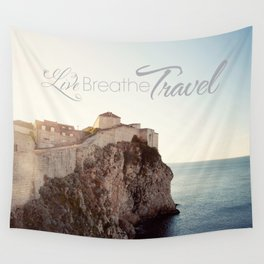 Live Breathe Travel - Dubrovnik, Croatia Wall Tapestry