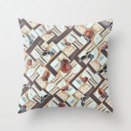 Winter Stash. Throw Pillow
