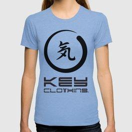 Key Clothing Canada Kanji Brushstroke Black Logo T-shirt