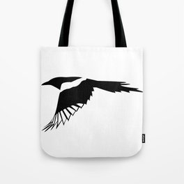 Pica Pica (magpie)  one Galery Giftshop Tote Bag