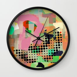 Abstract Painting No. 10 Wall Clock