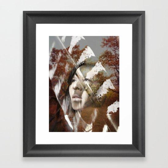 Earth Citizen Framed Art Print