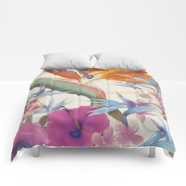 Fields of Paradise Comforters