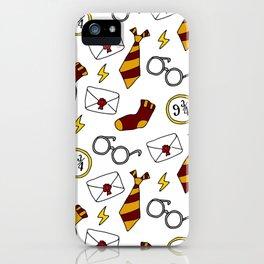 Boy Wizard Colors iPhone Case