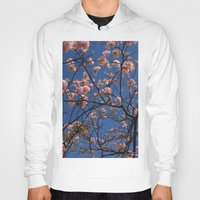 cherry blossoms Hoodies featuring cherry blossoms... by winnie patterson