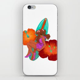 Summer Girl iPhone Skin