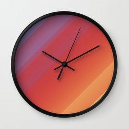 Simple Sunrise Wall Clock