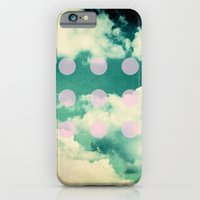 Clouds + Dots Slim Case iPhone 6s