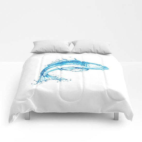 Fish in Water, Made from Water Comforters