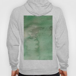 Hand painted forest green brown watercolor camo pattern Hoody