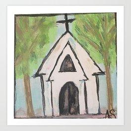 Take me to church Art Print