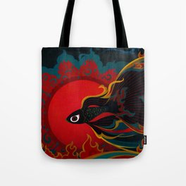 Fire fish Tote Bag
