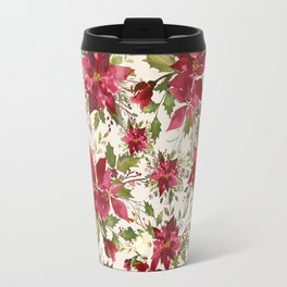 POINSETTIA - FLOWER OF THE HOLY NIGHT Travel Mug