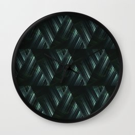 Abstract geometric pattern. Wall Clock