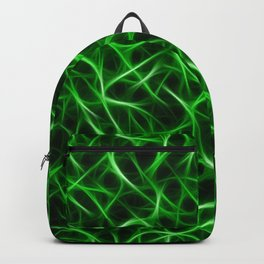 Psychedelic Camo Green Backpack