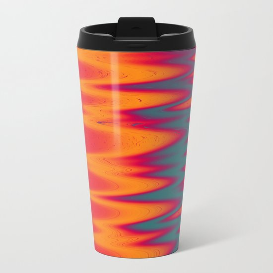Solarized Metal Travel Mug