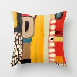 chemins Throw Pillow