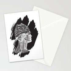 Wrong Brain Stationery Cards