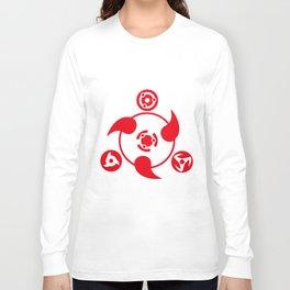 Anime Naruto Syaringan Cotton Short Sleeve Clothing Boy Girl Summer Gift Naruto T-Shirts Long Sleeve T-shirt