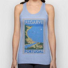Travel Posters - Algarve Unisex Tank Top