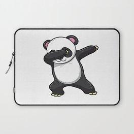 Dabbing Panda Shirt Bear Funny Dab Men Kids Gift Laptop Sleeve