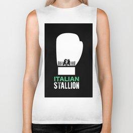 Italian Stallion Balboa Ring Biker Tank