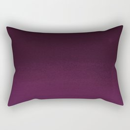Burgundy purple hand painted watercolor ombre Rectangular Pillow