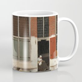 Johannes Vermeer - The little street Coffee Mug