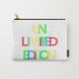Unlimited Edition Carry-All Pouch