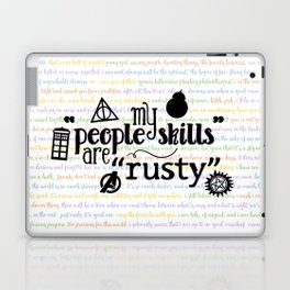 "My ""People Skills"" are ""Rusty"" Laptop & iPad Skin"