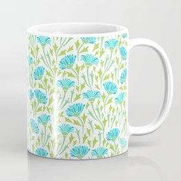 Blue chrysanthemums Coffee Mug