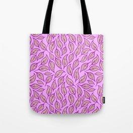V.15 - Striated Leaves - Good Vibes Tote Bag