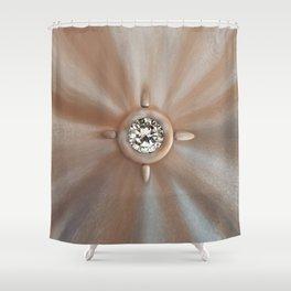 Diamonds Universe Shower Curtain