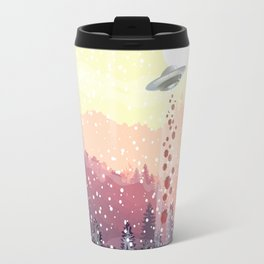 Christmas UFO Travel Mug