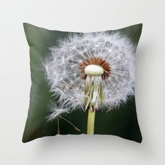 Dandelion seeds3 Throw Pillow