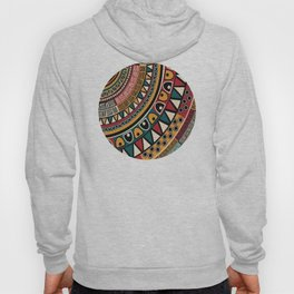 African Tribal Pattern No. 115 Hoody